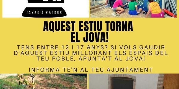 AQUEST ESTIU TORNA EL JOVA!