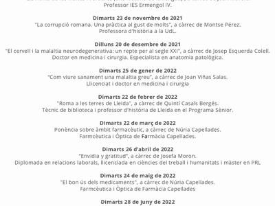 AULES DE FORMACIÓ DE LA NOGUERA PONTS