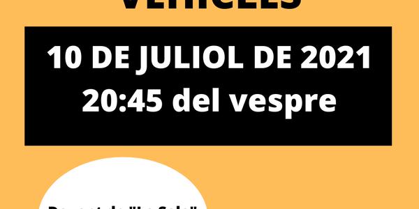 BENEDICCIÓ DE VEHICLES