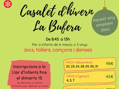 "CASALET D'HIVERN ""LA BUFERA"""