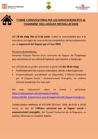 CONVOCATÒRIA PER LES SUBVENCIONS PER AL PAGAMENT DEL LLOGUER MITMA-LM 2020