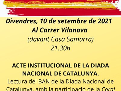 DIADA NACIONAL DE CATALUNYA PONTS