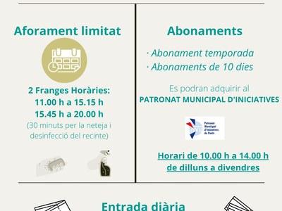 FUNCIONAMENT PISCINES MUNICIPALS DE PONTS