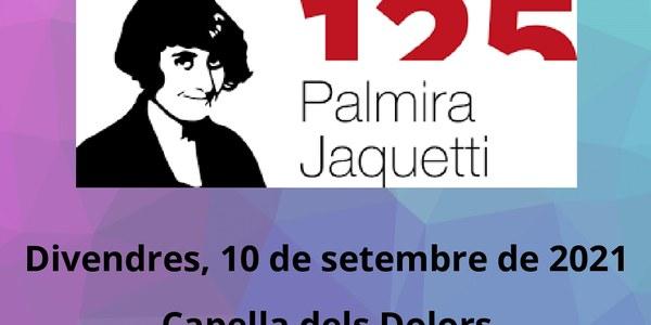 INAUGURACIÓ DE L'EXPOSICIÓ DE LA FOLKLORISTA PALMIRA JAQUETTI