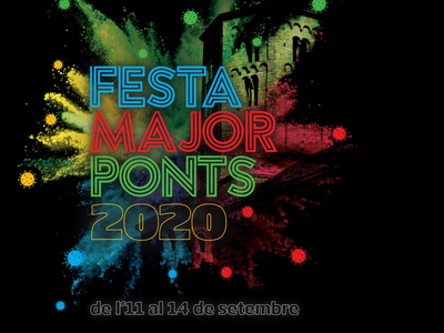LLIBRET FESTA MAJOR PONTS 2020