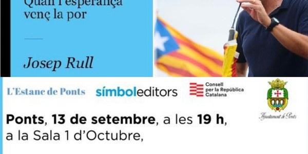 """Presentació del llibre """"1 Dia d'Octubre i 2 Poemes. Quan l'Esperança venç la por"""" de Josep Rull"""