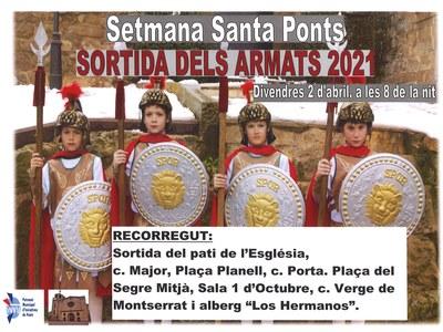 SORTIDA DELS ARMATS 2021