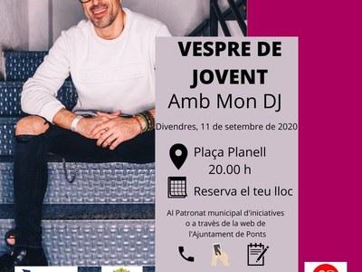 VESPRE DE JOVENT AMB MON DJ