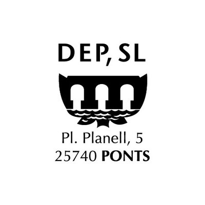 Escut Empresa Municipal de Distribució d'Energia Elèctrica de Ponts, SLU